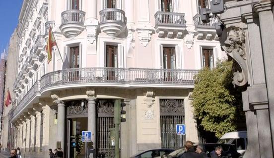 Imagen 1 - La sede de la CNMC de Madrid
