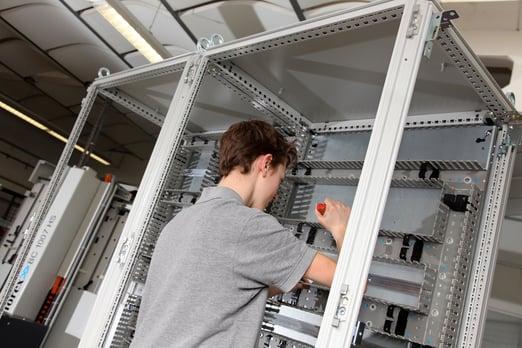 armarios de distribución eléctrica