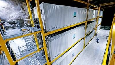 Lefdal Mine Data Center rittal